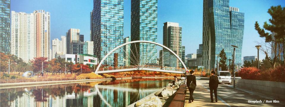 City Bridge in Incheon, South Korea
